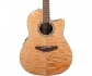 OVATION CS24P-4Q Celebrity Standard Plus Mid Cutaway Natural Quilt Maple